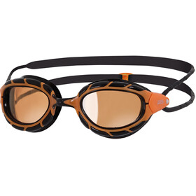 Zoggs Predator Polarized Ultra Goggle Orange/Black
